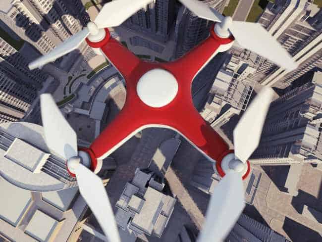 real estate drone