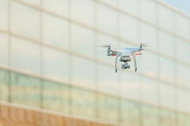 drone to inspect buildings