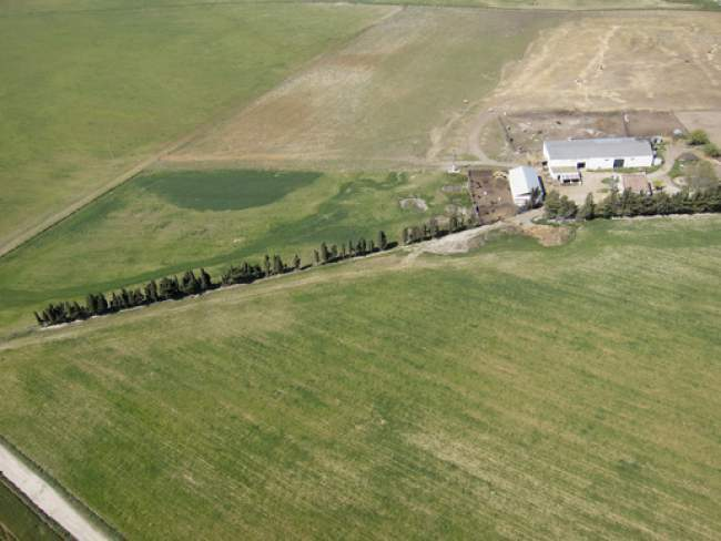 The use of drones on farms