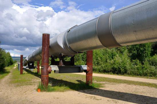 Oil pipeline inspection by drone