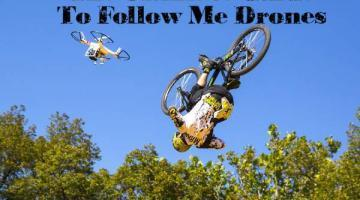 Guide to follow me drones