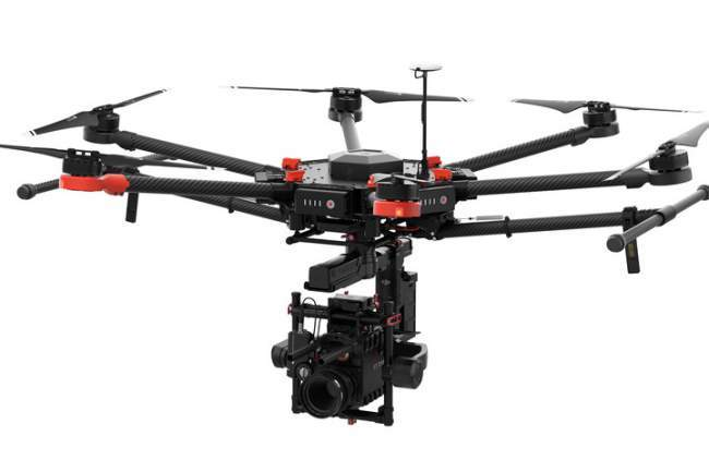 Matrice 600 movie making drone