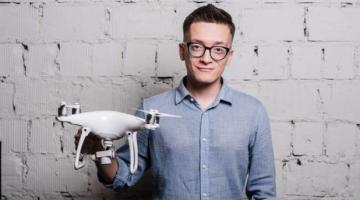 drones indoors