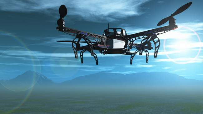 drone used for gis