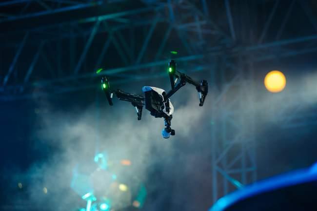 DJI inspire camera drone