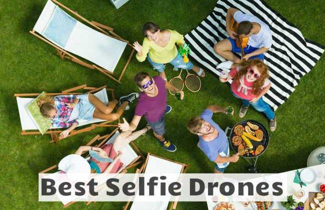 6 Best Selfie Drones for 2018 [UPDATED Reviews]