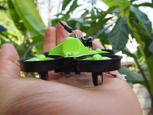 Micro drone side view