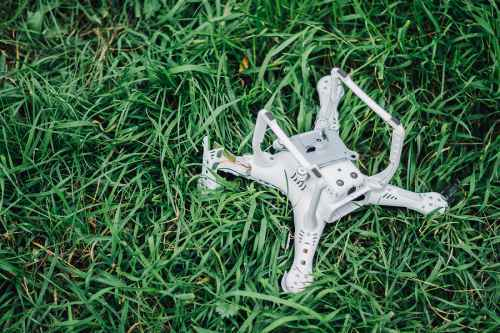 image of drone that is lost