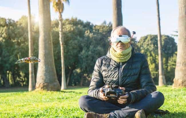 Commander drone fpv goggles et avis drone volt boursorama