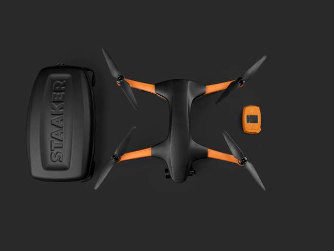 Staaker quadcopter