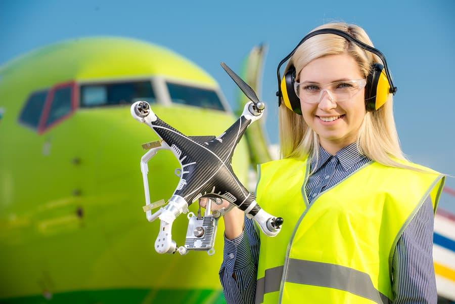 drone near airport