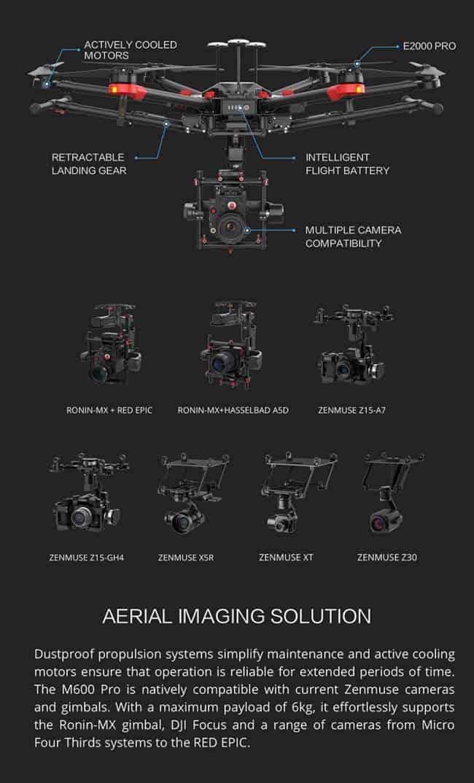 Matrice 600 Camera