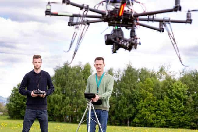 Commercial drone pilots