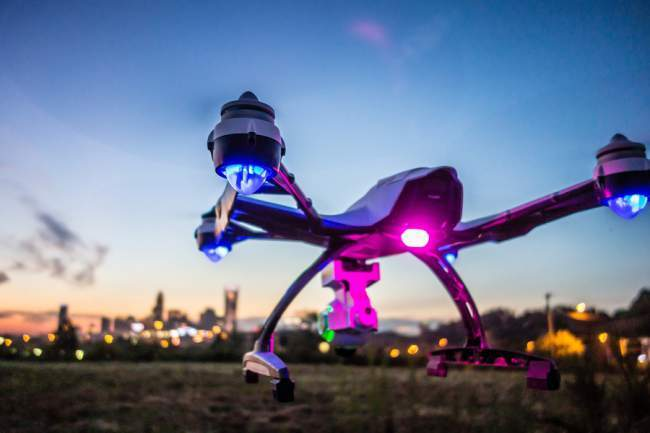 Commercial drone for photography