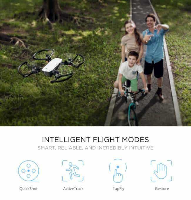 intelligent flight modes dji spark