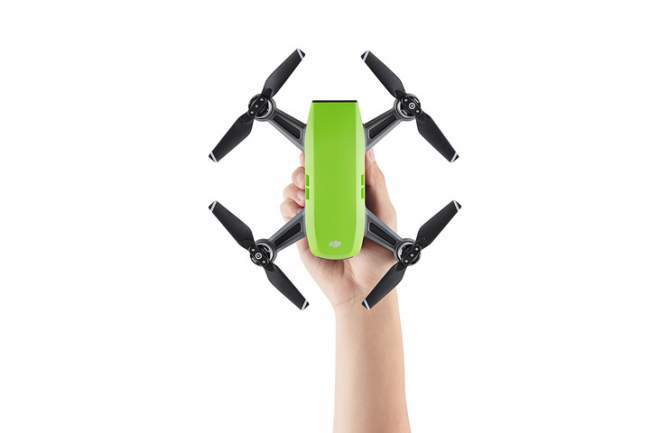 DJI Spark Size and Weight