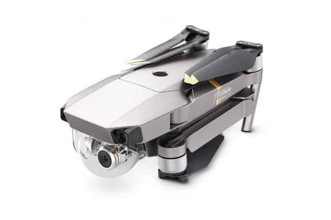 mavic pro platinum camera