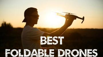 6 Best Foldable Drones 2018 [UPDATED Folding Drones list]