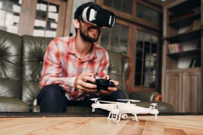 Commander drone camera quadcopter spot et avis drone camera thermique chasse