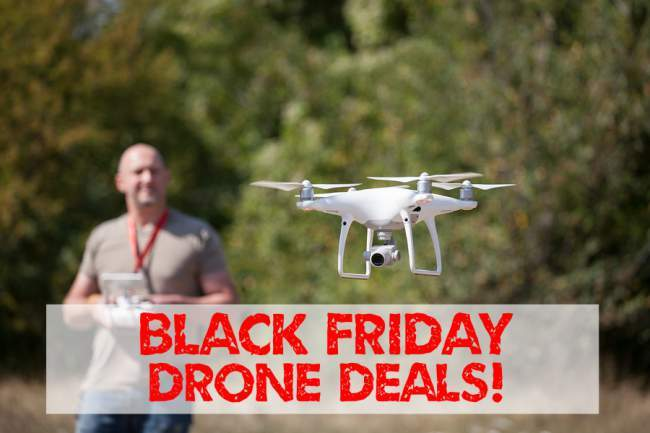 top black friday drone deals 2018
