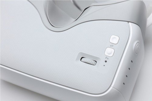 button on dji goggles