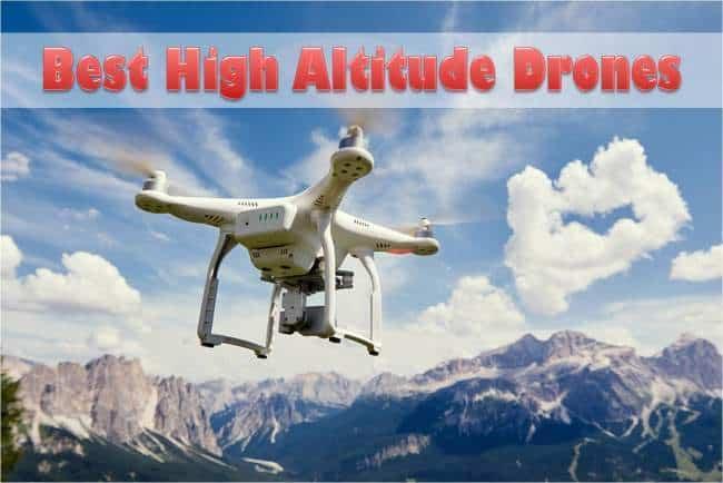 high altitude drones