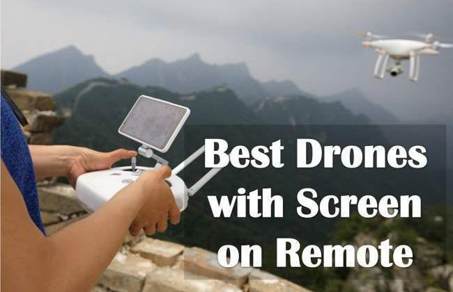 5 Best Drones with Screen on Remote (Why Integrated is Better)