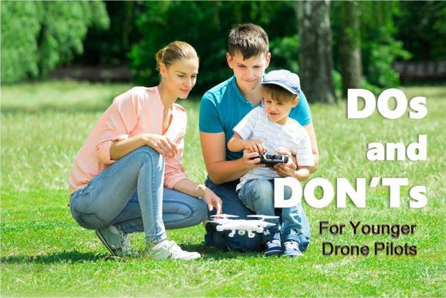 Drones for kids: dos and don'ts for younger drone pilots