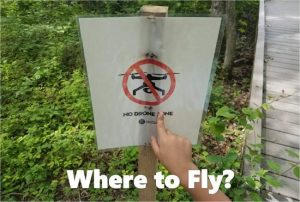 where to fly a drone