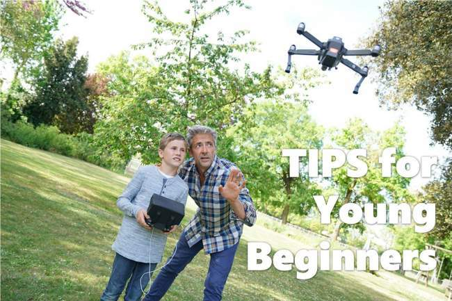 drone tips for children and young beginners