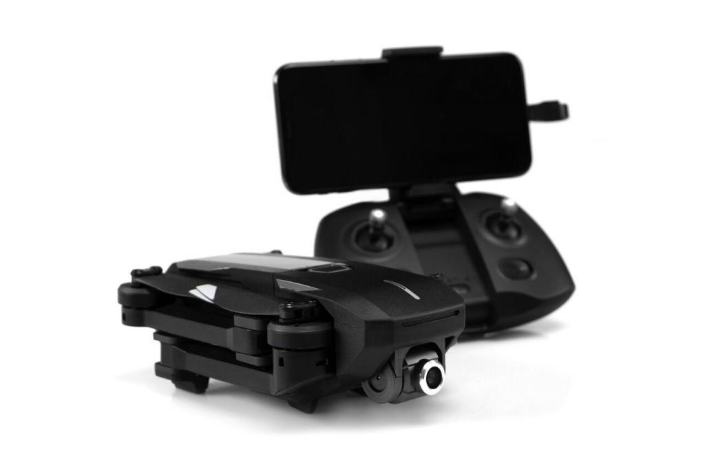 Foldable drone with remote control