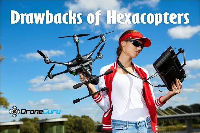 cons of owning a hexacopter