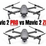 DJI Mavic 2 Pro vs Zoom: New Mavic has a Showdown with Itself