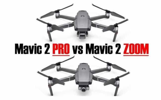 Mavic 2 Pro vs Zoom