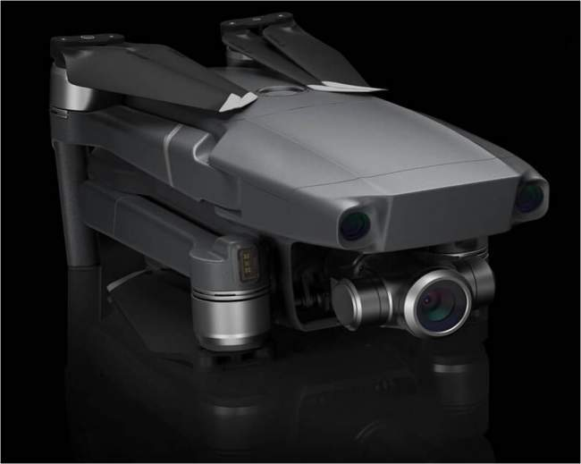foldable design of the Mavic 2 Pro and Zoom