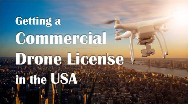 Commercial Drone License in the US