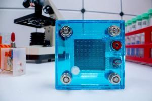 Hydrogen fuel cell in lab