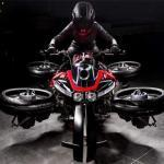 Lazareth's Flying Motorcycle is a Real-life Transformer