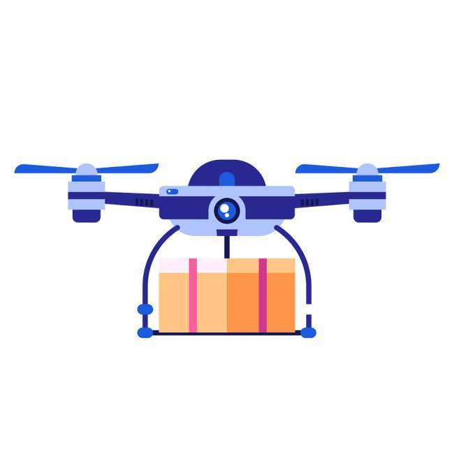 Large drone carry weight