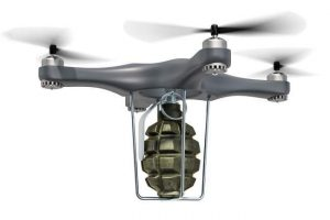 drone with explosives